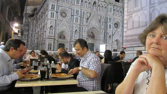 Ristorante Caffe Giotto: the view whilst eating