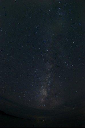 Nishi Pier: 西桟橋で見た星空