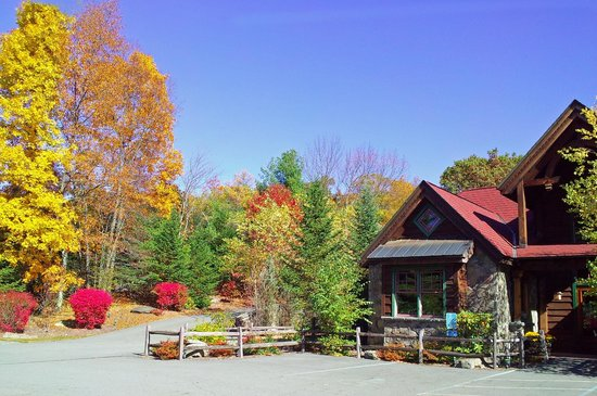 Fairview Cafe: Fall Colors at the Fairview Lake Cafe