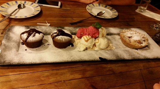 Decks Restaurant : Dessert