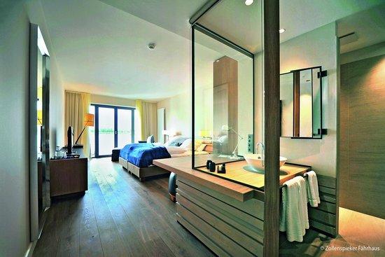 Zollenspieker Fährhaus Hotel: Komfort Doppelzimmer