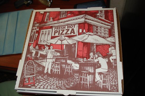 Brother's Pizza: Cute box
