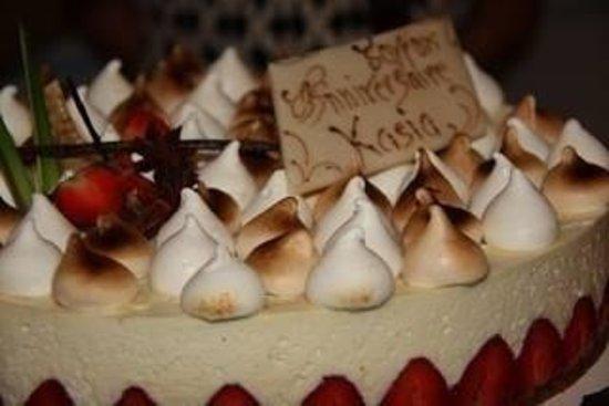 Le Verre y Table: Mon gateau anniversaire un delice !