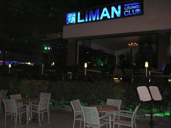 Liman Restaurant Lounge Club: look down on the harbour