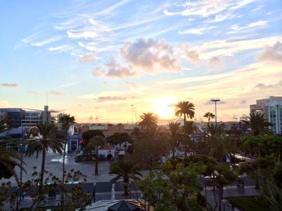 Bed&Chic Las Palmas : Las vistas desde la terraza del hotel son espectaculares