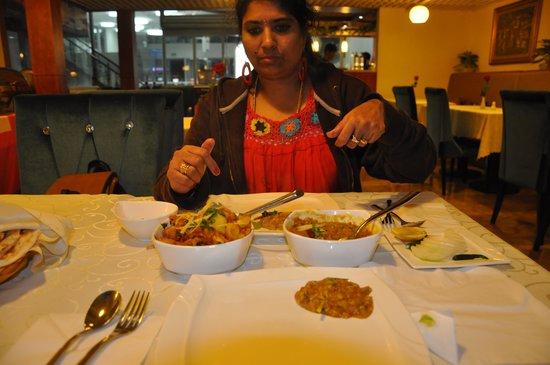 Swagat Indian Restaurant: Dinner we had