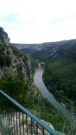 Grotte de la Madeleine : Vue panoramique