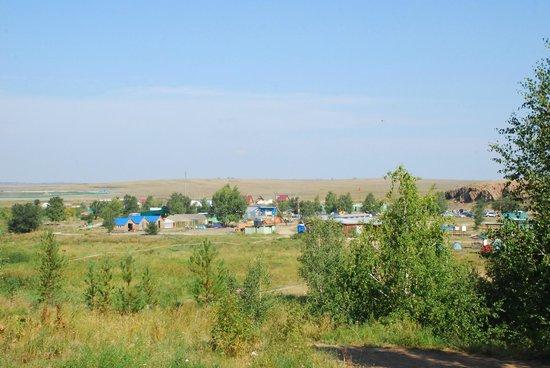 Chelyabinsk Oblast, Rosja: вид на лагерь парка