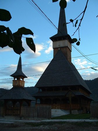 Wooden Churches of Maramures: clocher