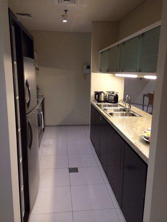 Ascott Park Place Dubai : المطبخ