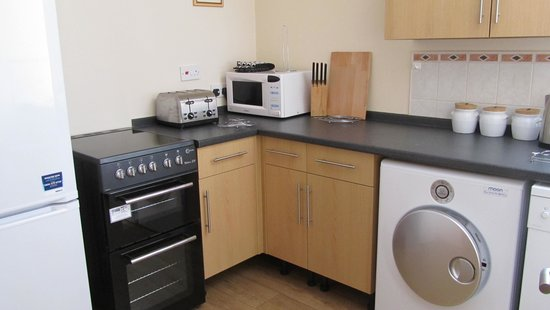 Upper Grippath Farm Holiday Cottages: example of our kitchen area