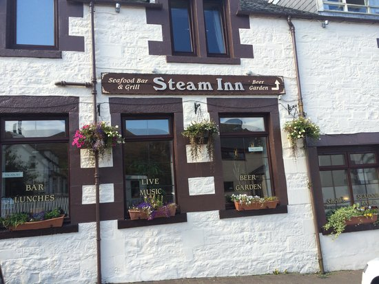 Front of the Steam Inn