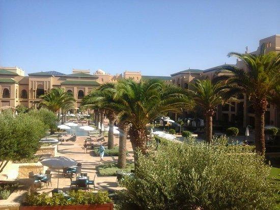 Mazagan Beach & Golf Resort: Vue depuis la chambre