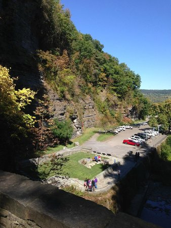 Watkins Glen State Park: outer view from way out