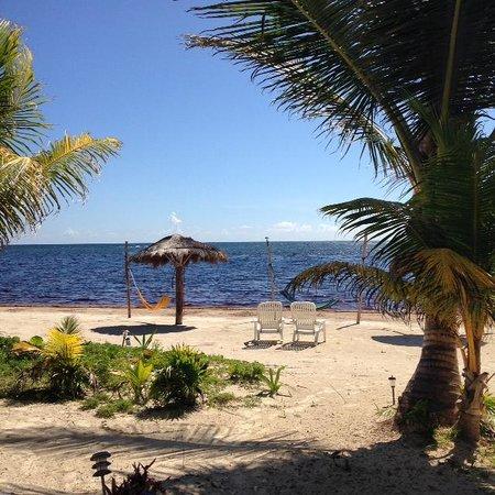 Hotel Maya Luna: Prachtig uitzicht!!