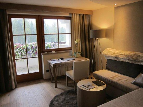 Hotel Sonnalp: Superior Suite - Wohnbereich