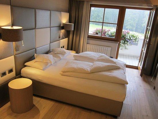 Hotel Sonnalp: Superior Suite - Schlafbereich