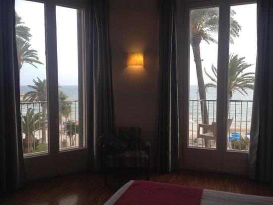 Hotel Subur : Balcony View.