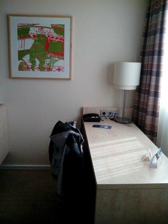 Select Hotel Mainz: Good computer/reading area