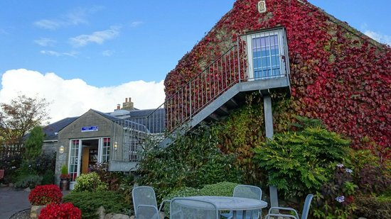 South Ayrshire, UK : Langholm Farm Tearoom