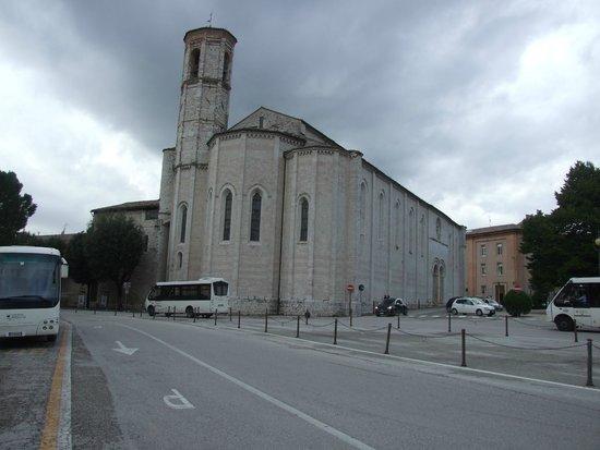 San Francesco Gubbio: Chiesa convento di S. Francesco