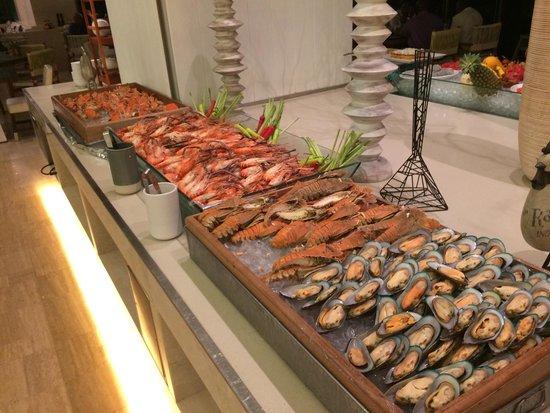 Chak Phong, Thailand: Seafood buffet