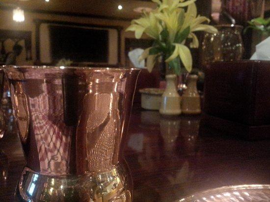 Bukhara: copper and wood finish.....