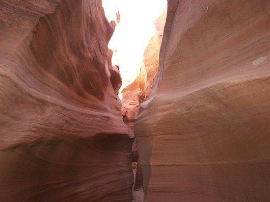 Water Holes Canyon: Verso la fine della camminata