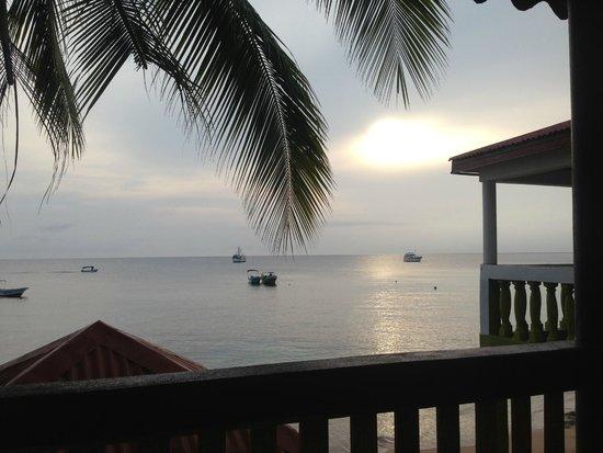 Hotel Los Delfines: Vista al mar desde el Hotel.