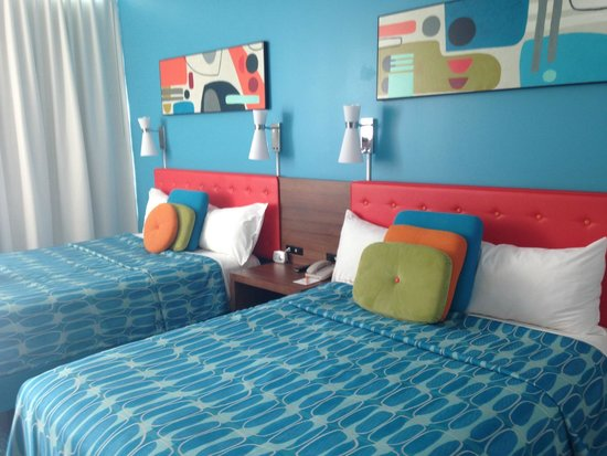 Universal S Cabana Bay Beach Resort Standard Tower Room W 2 Queen Beds