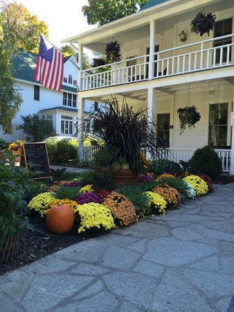 Beautiful Fall Decor Picture Of White Gull Inn Fish