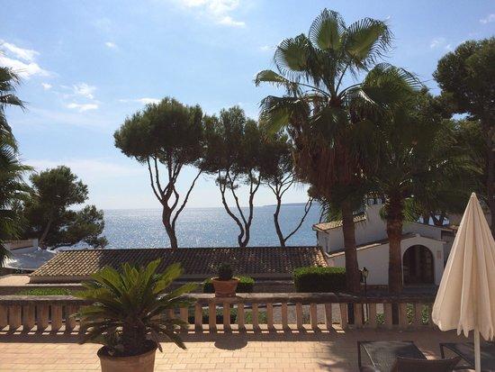 Bendinat Hotel: Blick von unserer Terrasse.