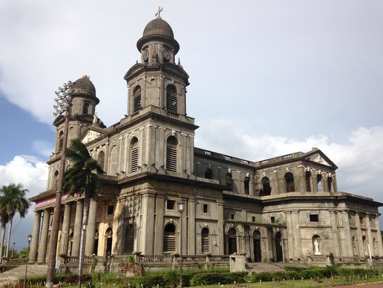 Antigua Catedral de Managua : Impresiona