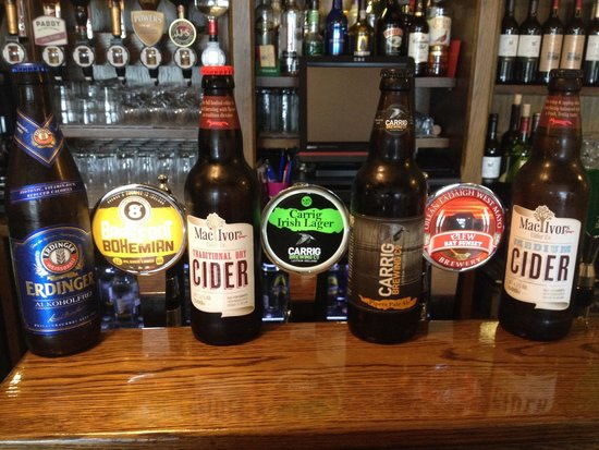 Flanagans Pub: Our full range of craft beers & ciders
