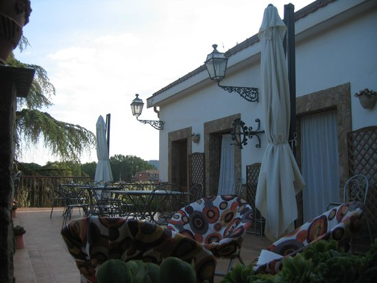 Villa Casablanca B&B : TERRACE