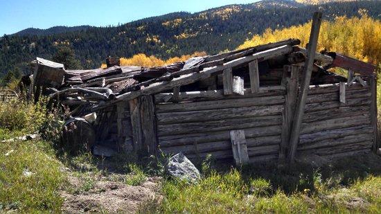 Cottonwood Pass: Old Mining Ruins