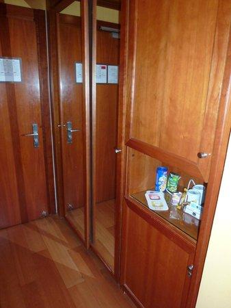 Best Western Plus City Hotel: bar fridge