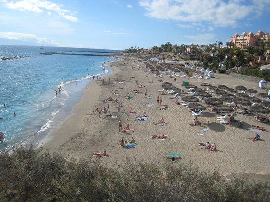 Adeje, España: Пляж