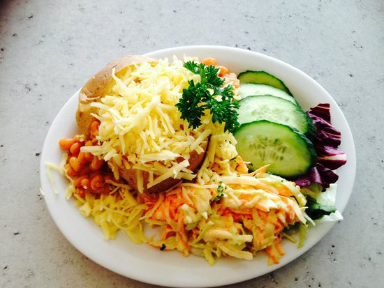 Jacket Potato With Cheese And Beans Picture Of Lincolnshire Imp