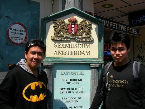 Sexmuseum Amsterdam Venustempel: My teenage kids thrilled that permission was granted for them to visit
