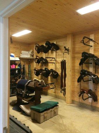 Equestrian Center - Saddle Room - Picture of Salamander Resort & Spa ...