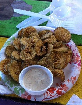 Dat Cajun Guy: The best fried pickles!