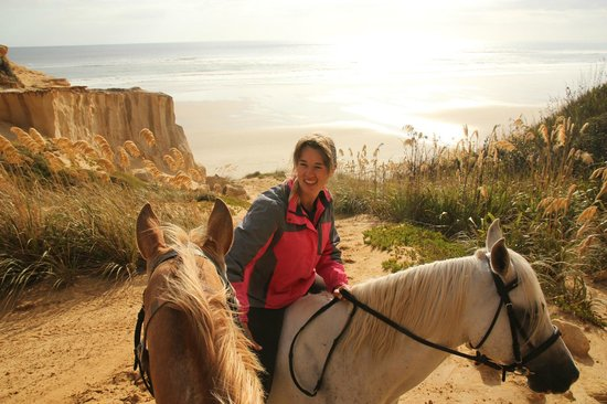 Baylys Beach Holiday Park : Horse trek, the guide