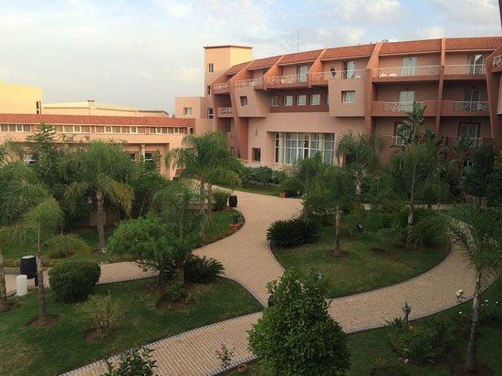 Hotel Menzeh Dalia : Vistas