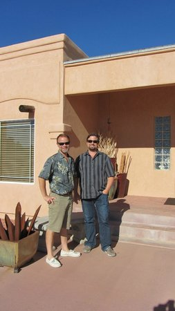 Dreamkatchers Lake Powell Bed & Breakfast : The  wonderful Eric and Jarod who own and run Dreamkatchers.