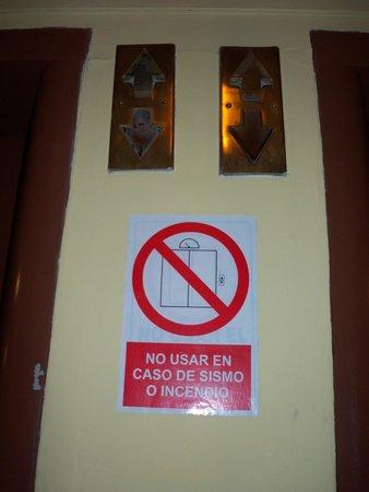 Gran Hotel Bolivar : Area de ascensores