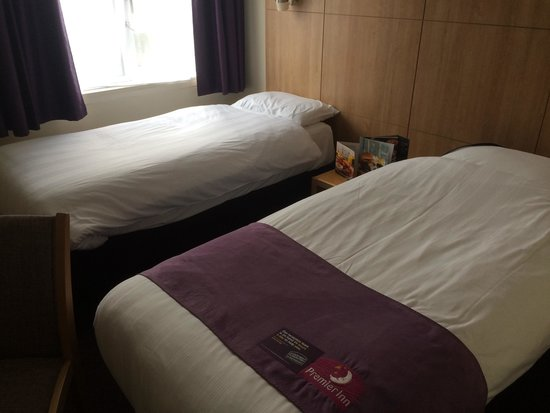 Premier Inn South Mimms/Potters Bar Hotel : Comfy beds:)