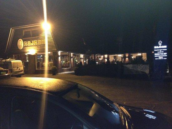 Rajrani: Night view