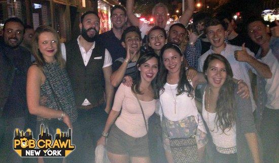 Pub Crawl New York: Wooohoo!
