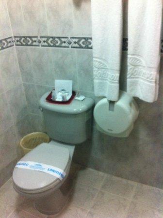 Howard Johnson Hotel Versalles Barranquilla : baño